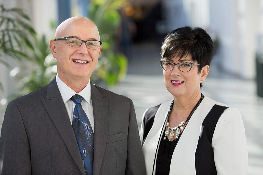 Leo Tintinalli and Jacqueline Tintinalli, co-founders of Life Changes University
